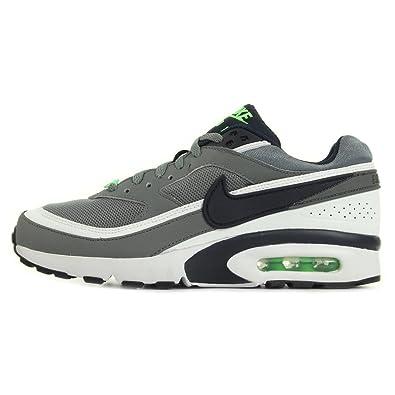 sale retailer 74452 cbfcd Nike Air Max BW (GS), Chaussures de Running garçon,  Multicolore-GrisNegroBlanco (Cool GreyObsdn-White-VLTG GRN), 35 12 EU  Amazon.fr Chaussures et Sacs