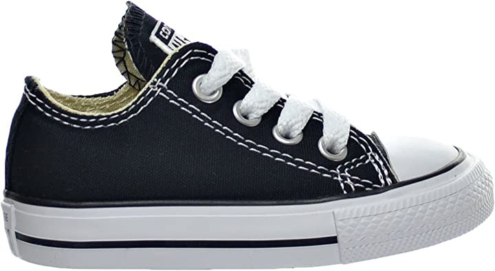 Converse Chuck Taylor All Star OX Toddler's Shoes Black 7j235 (7 M US)