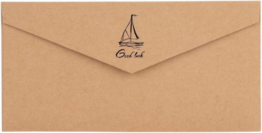 Biglietto di auguri 10 pezzi Biglietto dinvito Busta in carta Biglietto dinvito Biglietto regalo Biglietto monocromatico Pieghevole Buste per Invito Festa Compleanno Matrimonio