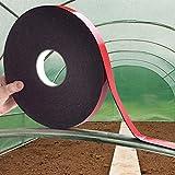 ProBache - Ruban adhésif mousse thermique anti-chaleur pour arceau serre de jardin