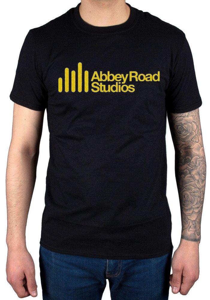 S Abbey Road Studios Tshirt Main Logo Album Cover The Beatles