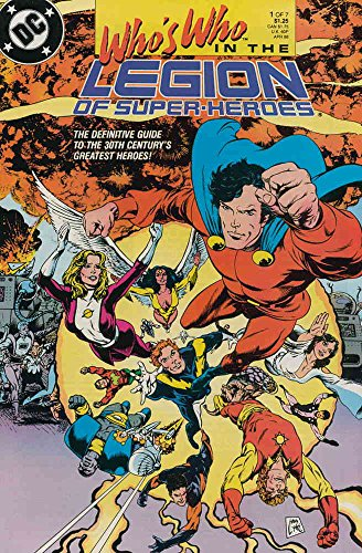 Who's Who in the Legion of Super-Heroes #1 FN ; DC comic - Crystal Valentino