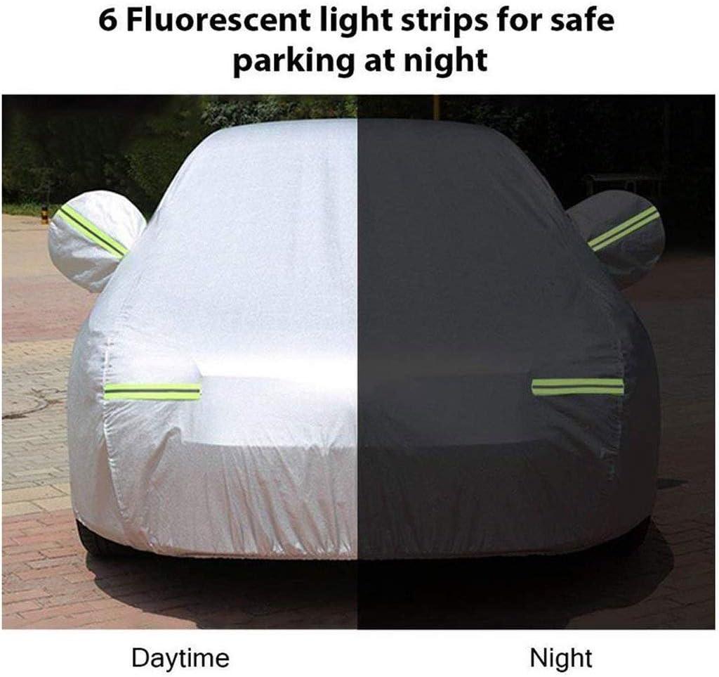 Size : 2016 Suzuki Ignis LXYPLM Funda Coche SUV Cubierta del Coche a Prueba de Agua Escudo Coche peque/ño sed/án Cubierta de Tela Oxford Espesado Lluvia Protecci/ón Solar UV All Weather 02619