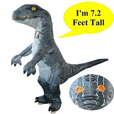 Amazon.com: Halloween Costume Velociraptor, Inflatable ...