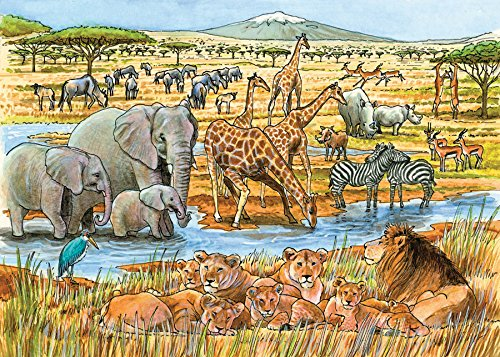 Out of Africa Puzzle