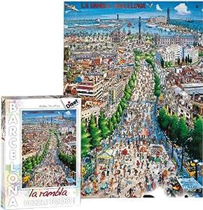 Diset 70245 - Puzzle 1000 pzs. La Rambla