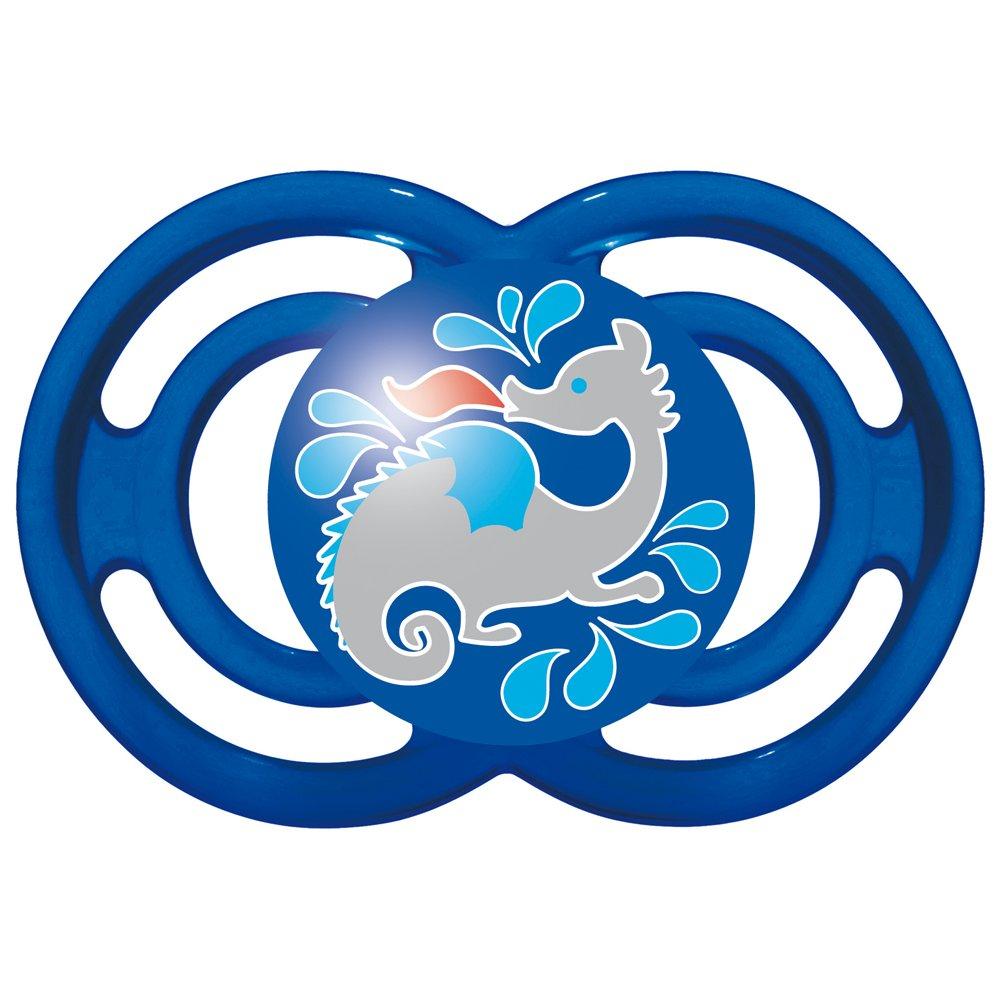 Mam - Perfect 16 +, Silicona de chupete Mar de monstruo azul ...