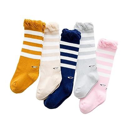 seadear 5 pares algodón suave lindos ojos patrón calcetines de ...