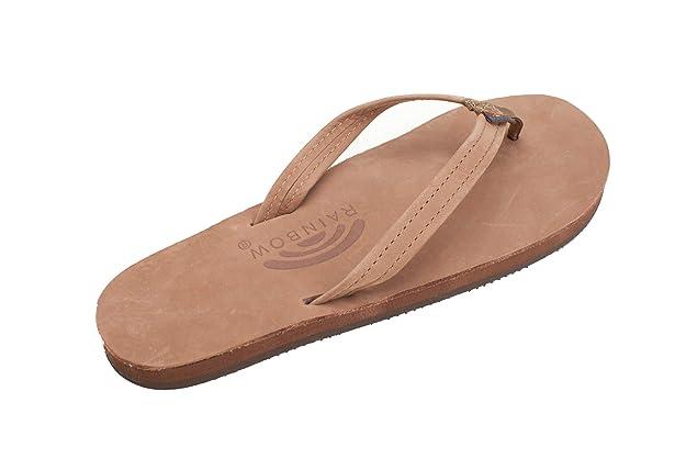 3e7d79124d3d Amazon.com  Rainbow Sandals Women s Single Layer Premier Leather Narrow  Strap  Shoes