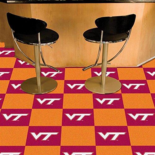 Virginia Tech Hokies Hokies Carpet Tiles