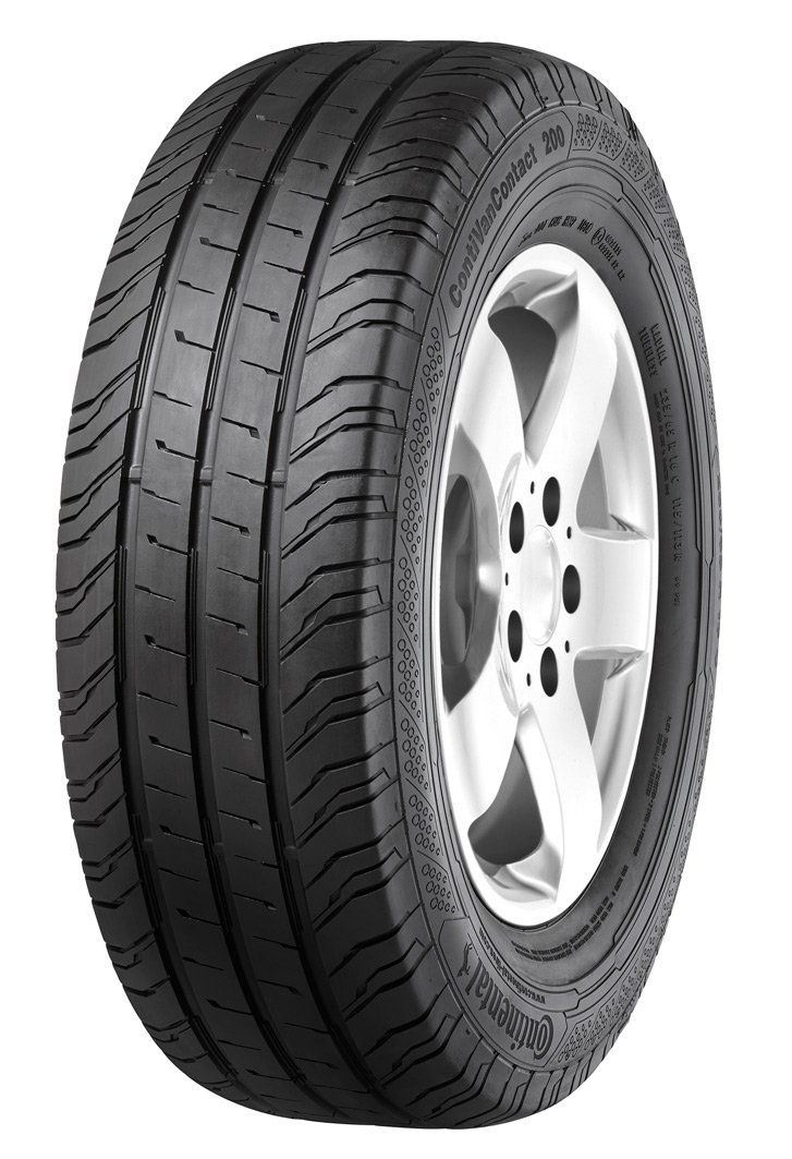 CONTINENTAL ContiVanContact 200   - 185/75/16 104R - B/A/72dB - Summer tire (Light Truck) Continental Corporation