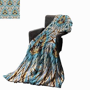Amazon.com: Luckyee - Manta tribal africana con formas ...