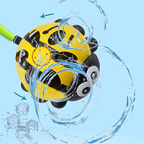 Lawn Aroland Garden Sprinkler Toys,Garden Water Sprinkler,Summer Splash Sprinkler Toy for Backyard Outdoor Play,Kids Water Play Spray Water Toy for Toddlers Boys Girls Pets Paddling Pool
