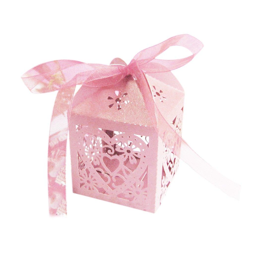 Amazon.com: MuLuo Decoration Love Heart Party Wedding Favor Ribbon ...