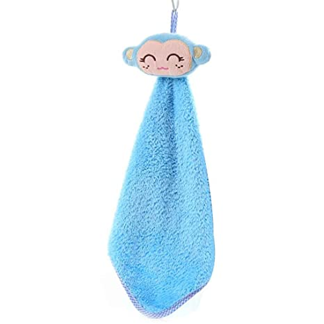 Pequeños animales de cocina Wipe toalla que cuelga toallas de mano Pañuelo niños Cocina Baño de