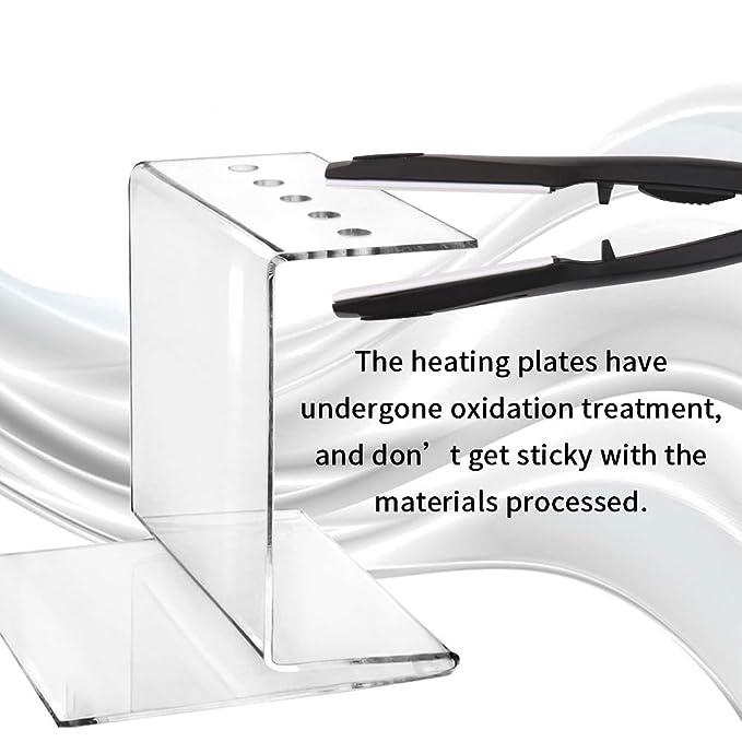 Fesjoy Rohr Biegezange Acryl Hei/ßbiegemaschine Sichere 3D Leuchtzeichen Bogenform Bieger Winkelformung Ger/ät