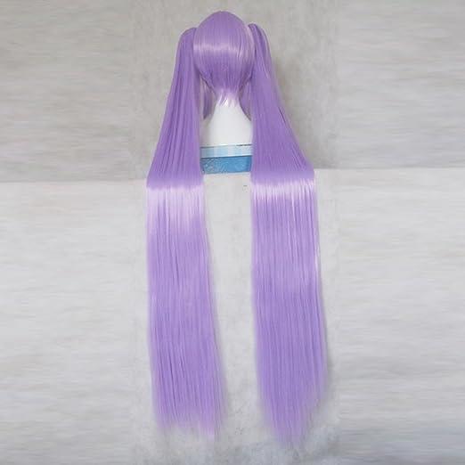 Amazon.com: Vocaloid Hatsune Miku Morado 120 cm de largo ...