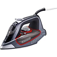 Black+Decker BD BXIR2202IN 2200-Watt Steam Iron (Grey)