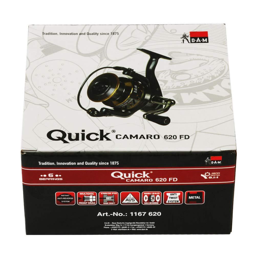 DAM Quick Camaro FD Spinnrolle mit Frontbremse