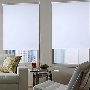 Amazon De Shiny Home Klemmrollo Rollo Plissee Sichtschutzrollo