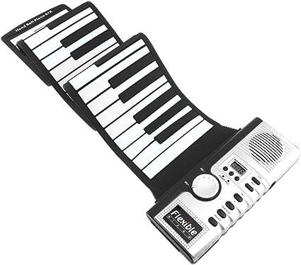 ClothHouse 61 Teclas Roll Up Piano con Controlador Midi Y ...
