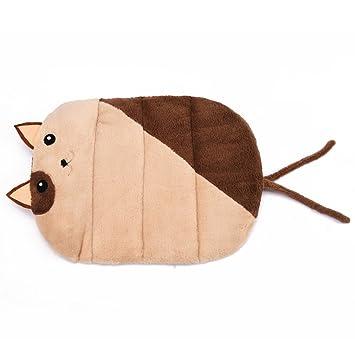 H.L Alfombra para mascotas Alfombra de dibujos animados Alfombrilla para gatos Casa para gatos Four Seasons Alfombra para mascotas con alfombrilla de ratón ...