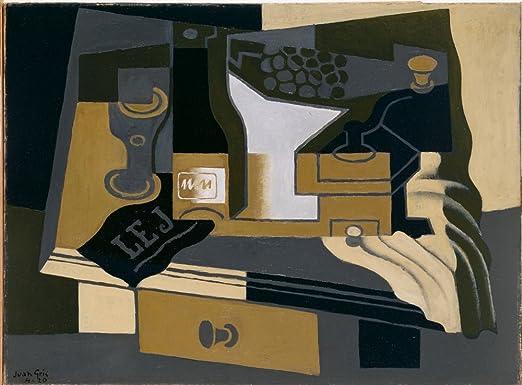 Berkin Arts Juan Gris Giclee Papel de Arte impresión Obras de Arte ...