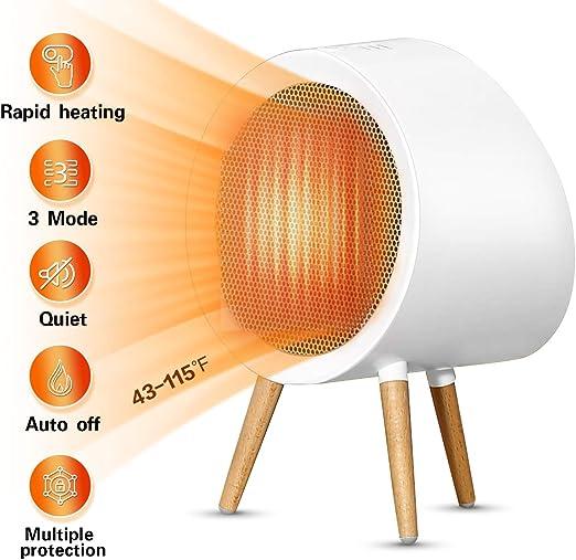 Amazon Com Smsj 5cm9 Space Heater M White Kitchen Dining
