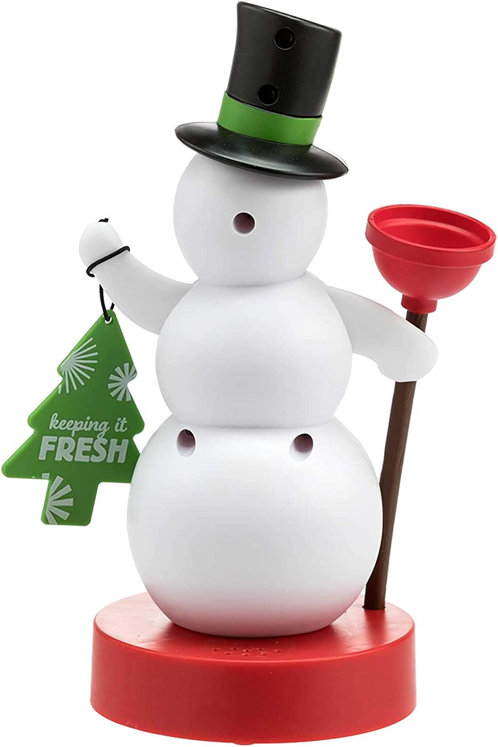 hallmark christmas bathroom snowman