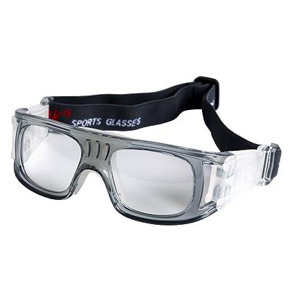 28baa2764d Andux Baloncesto Fútbol Fútbol Deportes Gafas Protectoras Gafas Gafas de Seguridad  LQYJ-01 (Gris