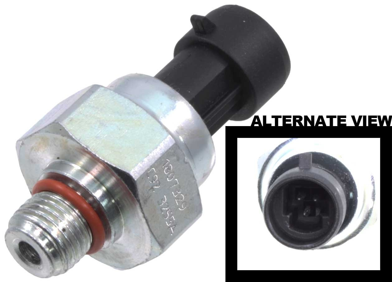 APDTY 112841 ICP Fuel Injector Injection Pressure Sensor Fits 7.3L Diesel On 1994-2003 Ford Trucks & Vans & 1994-2005 International Trucks (Replaces F4TZ9F838A, F6TZ9F838A, 1807329C92, CM5227) by APDTY