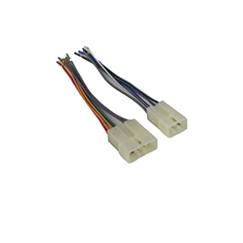 Amazon.com: Novosonics DAF-610 Wiring Harness for Mitsubishi ... on
