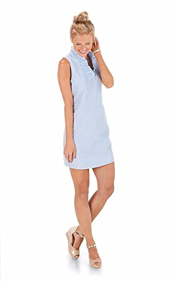 Mud Pie Mommy Me Collection Blue Seersucker Dress Womens At