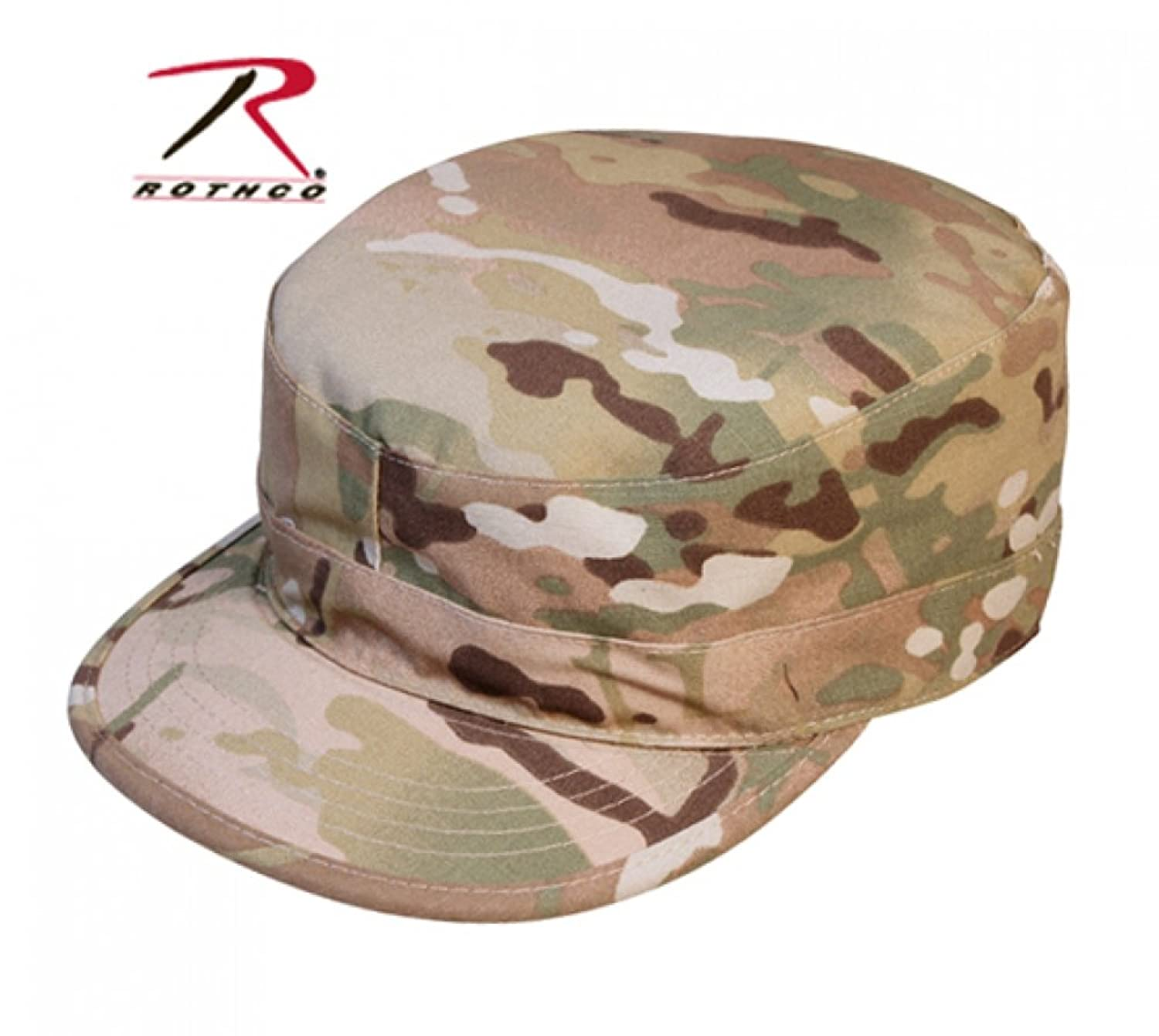Rothco Multi Cam Military Rip-Stop Map Pocket Patrol Ranger Fatigue Cap
