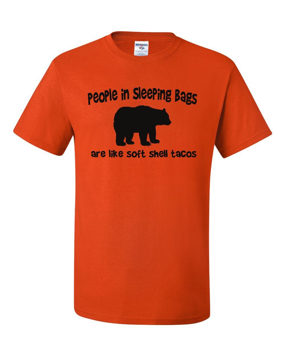 People Are Soft Shell Tacos T Shirt Funny Camping Brown Bear T 9150