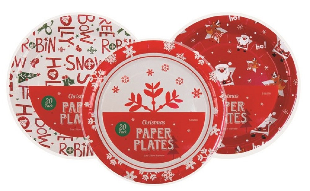 20x u0027Christmasu0027 Paper Plates- Design at Random Amazon.co.uk Kitchen u0026 Home  sc 1 st  Amazon UK & 20x u0027Christmasu0027 Paper Plates- Design at Random: Amazon.co.uk ...