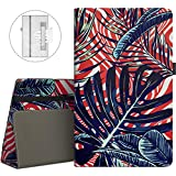 VORI Folio Case for All-New Amazon Fire HD 8 Tablet (5th/6th/7th/8th Generation, 2015/2016/2017/2018 Release) - Slim Fit Premium PU Leather Standing Protective Cover with Auto Wake/Sleep-Mysterious Grass