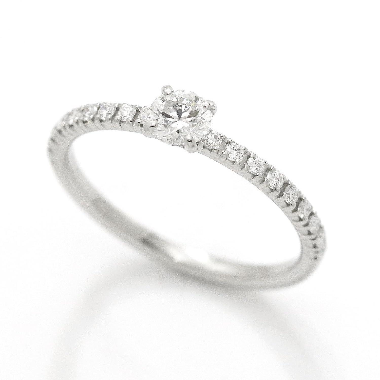 カルティエ エタンセル ダイヤ 0.18ct #45 リング Pt950 プラチナ Cartier ダイア 指輪 【証明書付き】【中古】 90042878 B07BSYDLBL
