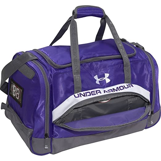 3be2d464348 Amazon.com: Under Armour PTH Victory Small Team Duffel Gloss/Graphite Size  Small: Sports Duffle Bags: Clothing