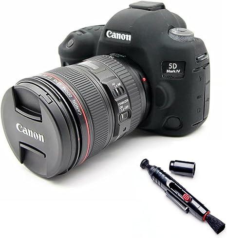 Suave silicona goma funda para cámara funda para Canon EOS 5D4 5d ...