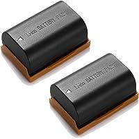 Powerextra 2 Pack Replacement Canon LP-E6, LP-E6N Battery for Canon C700, XC15, EOS 60D, 70D, 80D, 5D Mark II III and IV, 5DS, 5DS R, 6D, 7D Cameras BG-E14, BG-E13, BG-E11, BG-E9, BG-E7, BG-E6 Grips