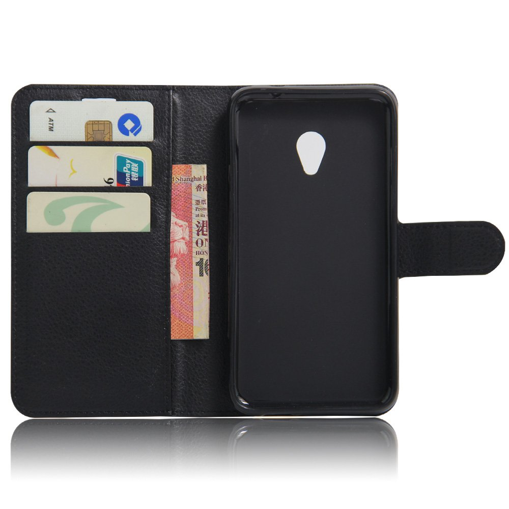 Amazon.com: Vodafone Smart Turbo 7 VFD500 Case, DISLAND(TM) Flip PU Leather Card Slot Case Magnetic Closure Stand Cover Fashion Wallet Case for Vodafone ...