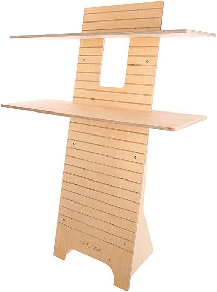 La you-stand Up. Es un estándar de madera que permite trabajar de ...