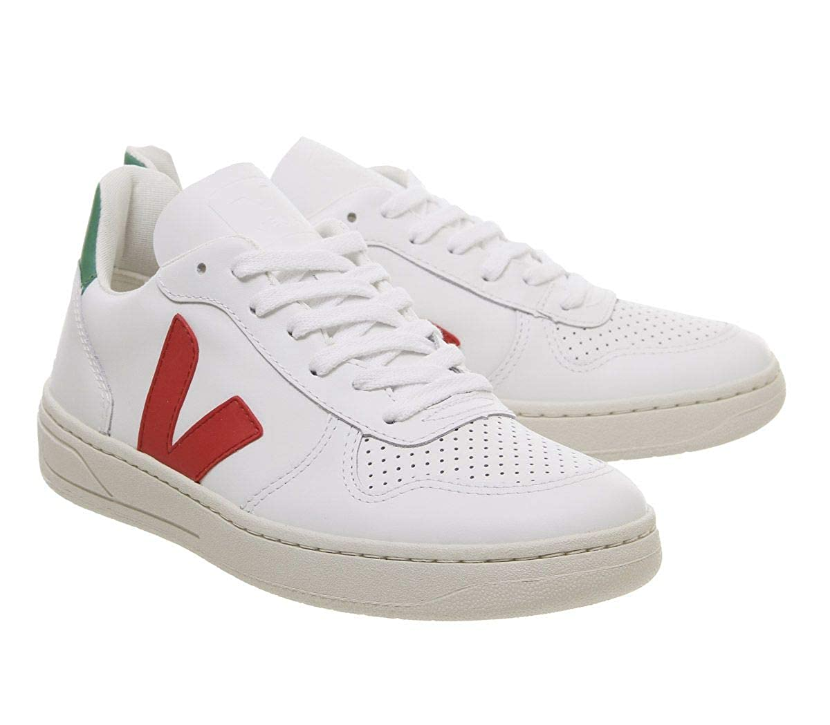 Veja Womens V-10 Lace Up Sneakers