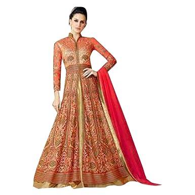 Amazon.com: Anarkali 2794 - Traje de mujer con pantalón para ...