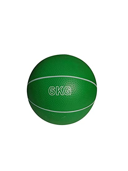 Buy ANS RUBBER MEDICINE BALL WEIGHT 6 KG Basketball style