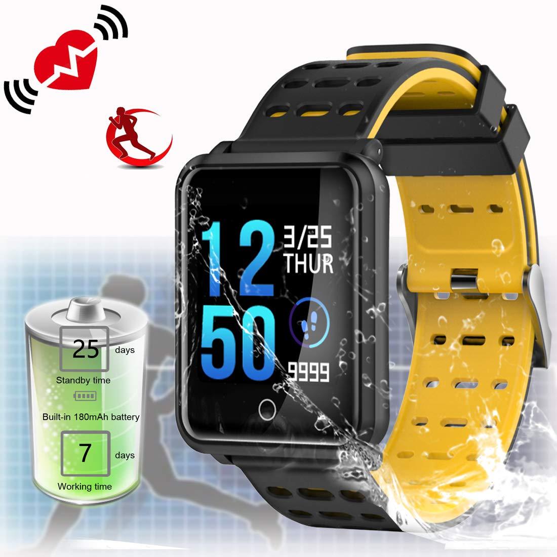 Amazon.com: ZEERKEER N88 - Reloj inteligente con pantalla ...