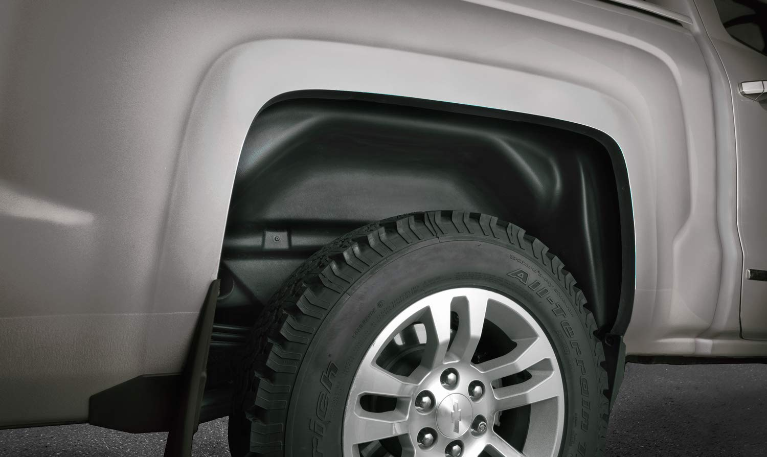 Husky Liners Rear Wheel Well Guards Fits 17-18 F250//350