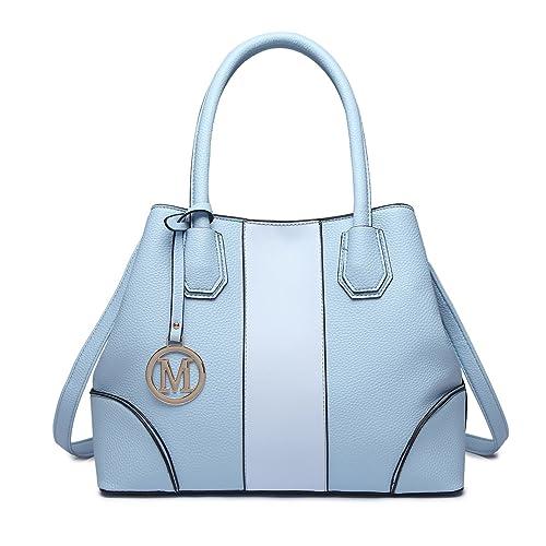 1819253644826 Miss Lulu Handtasche Top Handle Tasche Henkeltasche Damen Elegant  Henkeltasche Schultertasche