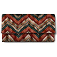 Shopmantra Multicolor Canvas With Leather Women's Wallet